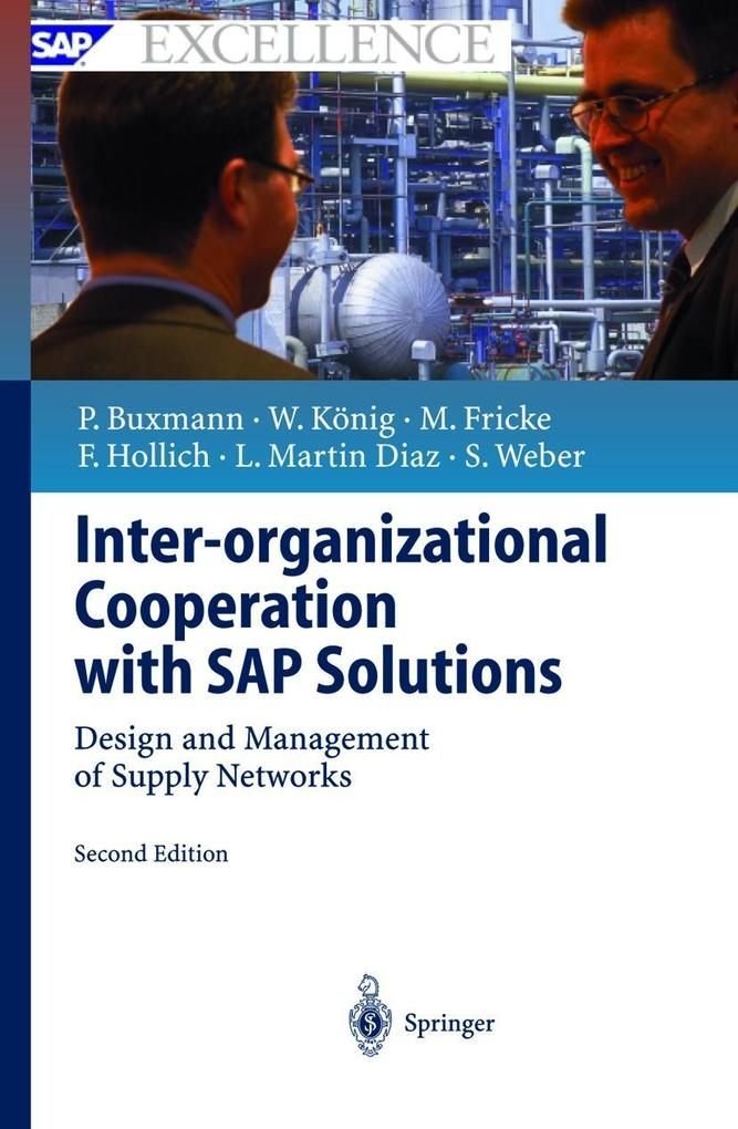 Inter-organizational Cooperation with SAP-Solutions als Buch