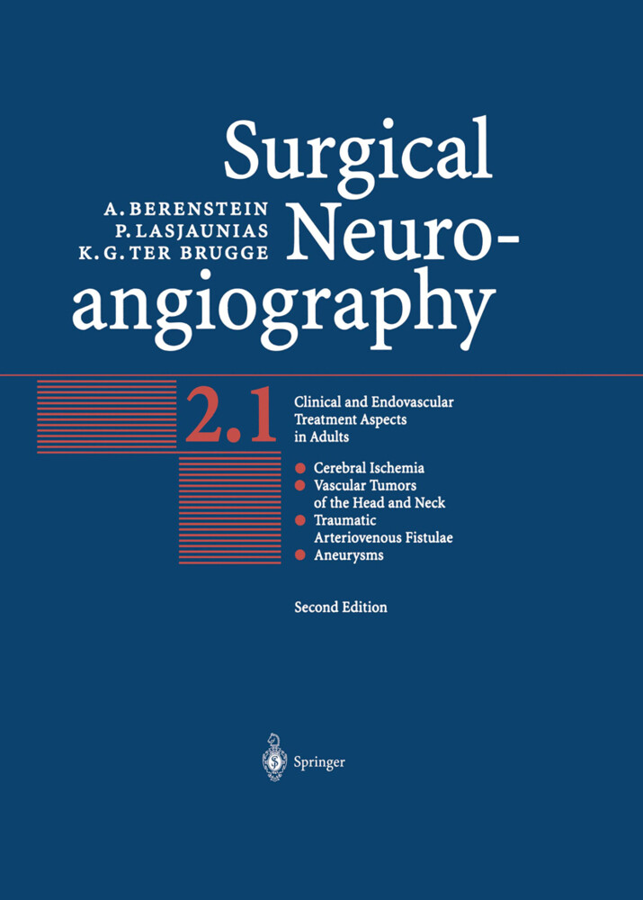 Surgical Neuroangiography 2.1/2.2.(2Bd) als Buch
