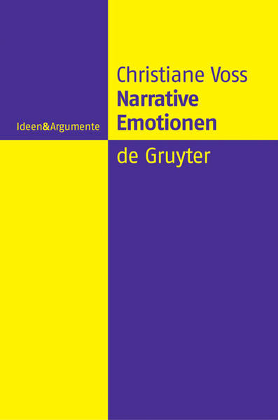 Narrative Emotionen als Buch
