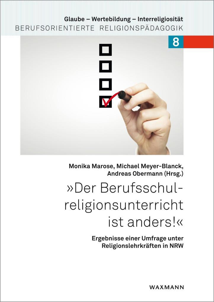 ´Der Berufsschulreligionsunterricht ist anders!...