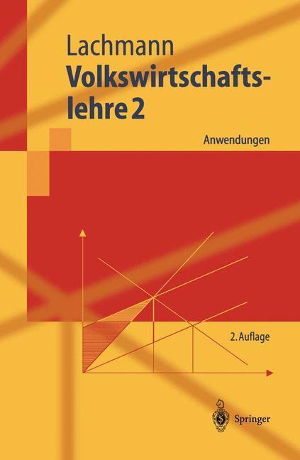 Volkswirtschaftslehre 2 als Buch