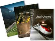 Paket: Gotthard-Basistunnel - der längste Tunnel der Welt, inkl. DVD