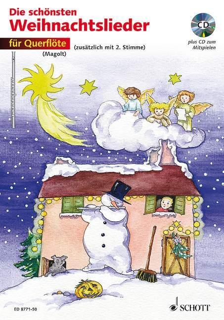 Die schönsten Weihnachtslieder für Querflöte. Mit CD als Buch