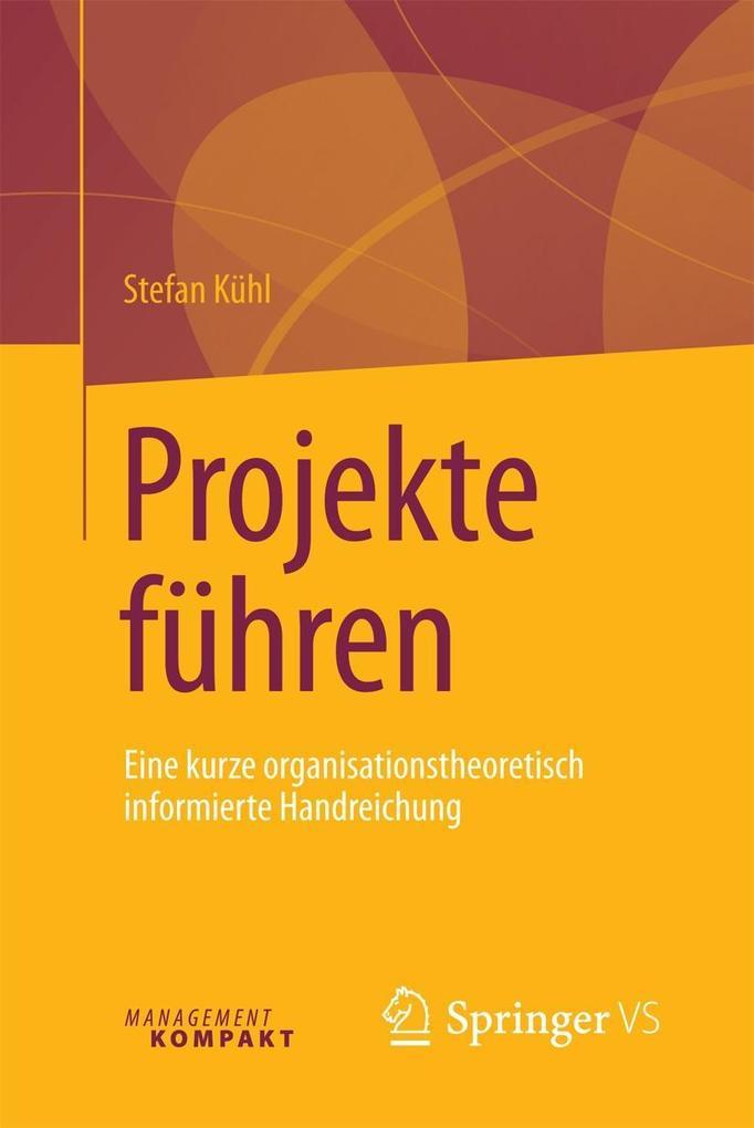 Projekte führen als eBook Download von Stefan K...