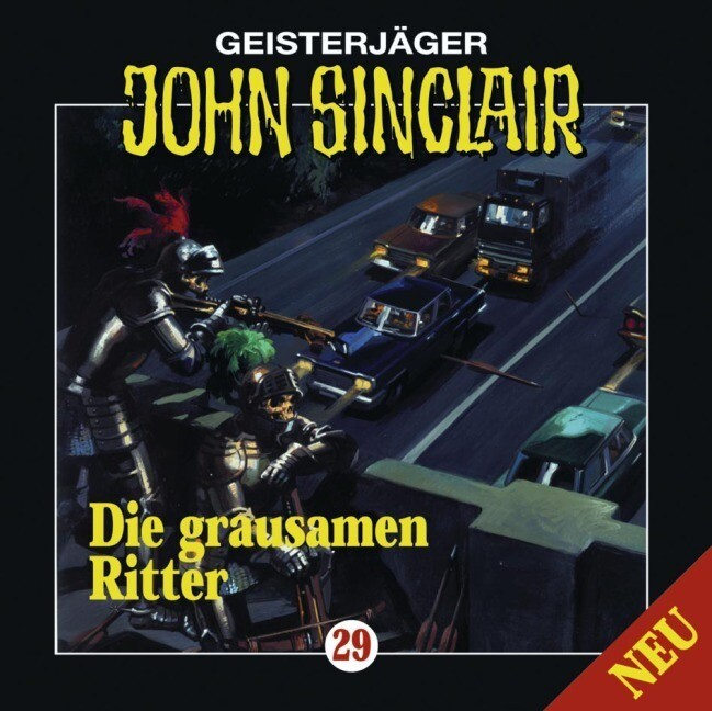 Geisterjäger John Sinclair - Die grausamen Ritter, 1 Audio-CD als Hörbuch CD