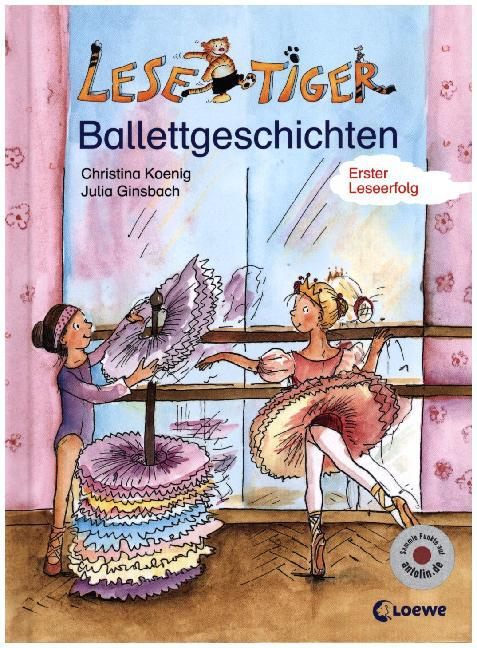 Kleine Lesetiger Ballettgeschichten als Buch