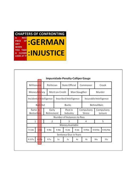 CHAPTERS OF CONFRONTING :GERMAN :INJUSTICE als Buch (kartoniert)