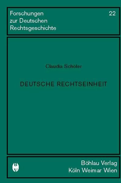 Deutsche Rechtseinheit als Buch