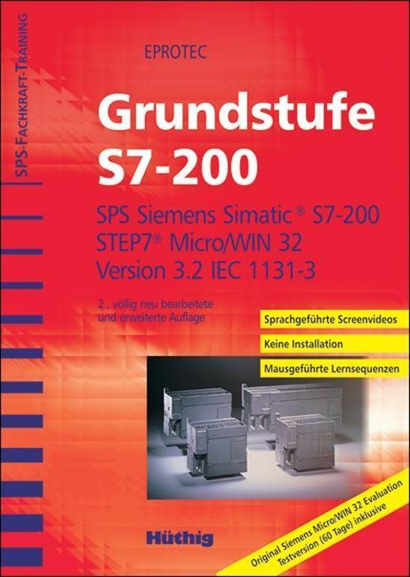 SPS-Fachkrafttraining. Grundstufe S7-200. CD-ROM als Software