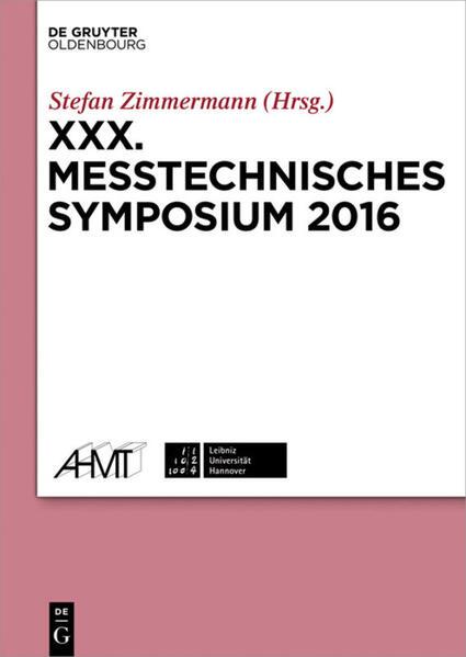 XXX. Messtechnisches Symposium als Buch von