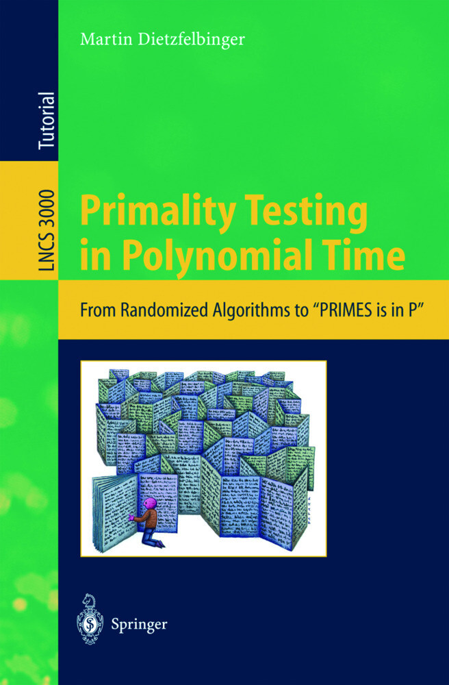Primality Testing in Polynomial Time als Buch