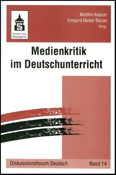 Medienkritik im Deutschunterricht als Buch