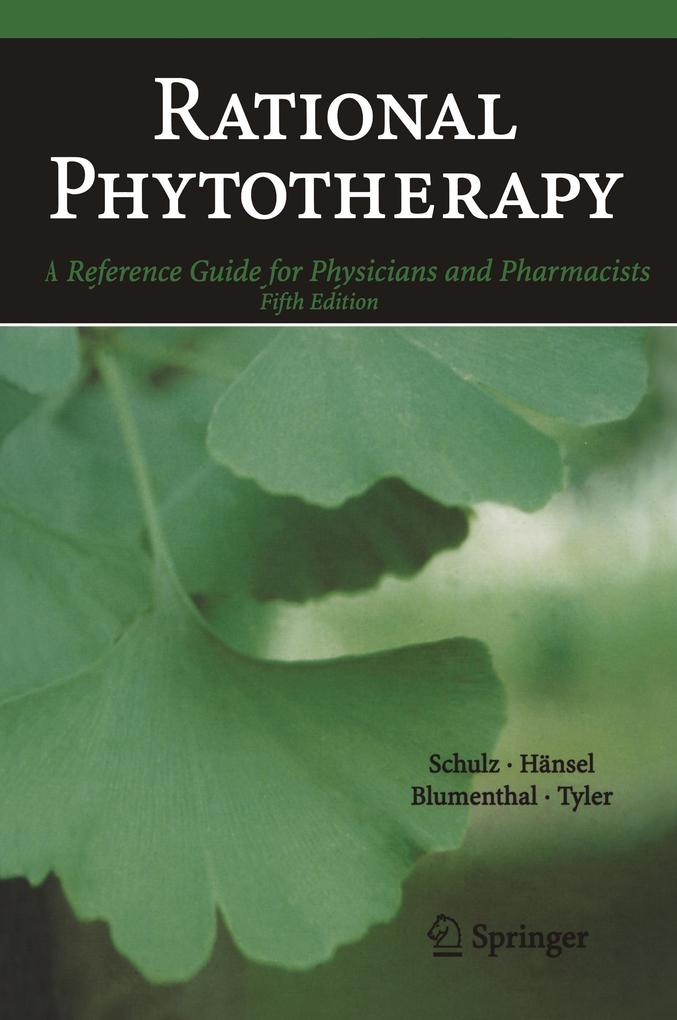 Rational Phytotherapy als Buch