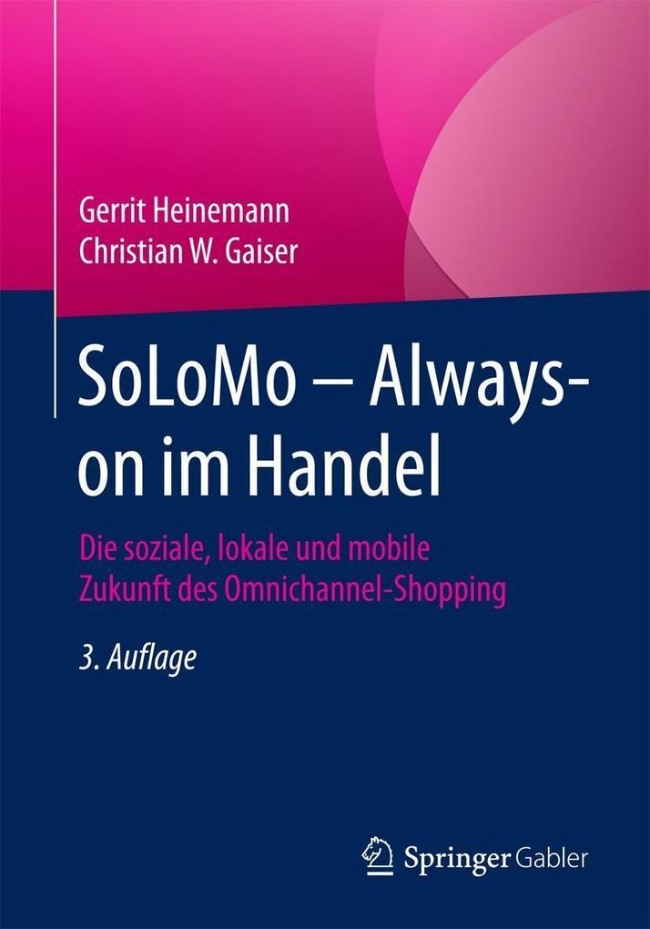 SoLoMo ´ Always-on im Handel als eBook Download...