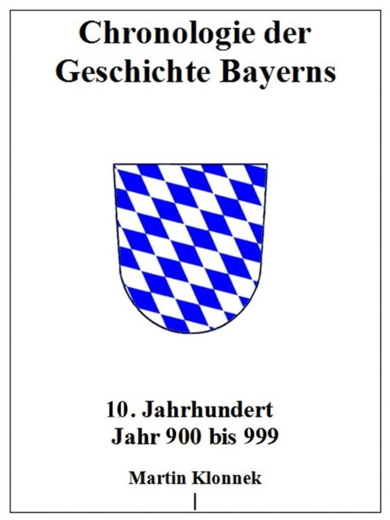 Chronologie Bayerns 10 als eBook epub