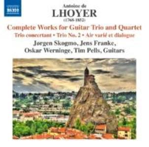 Sämtliche Werke für Gitarrentrio &-quartett