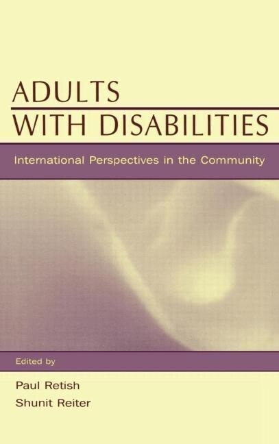 Adults with Disabilities: International Perspectives in the Community als Buch