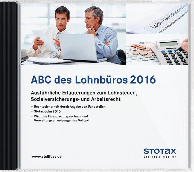 ABC des Lohnbüros, Ausgabe Juni 2016 - DVD/Online