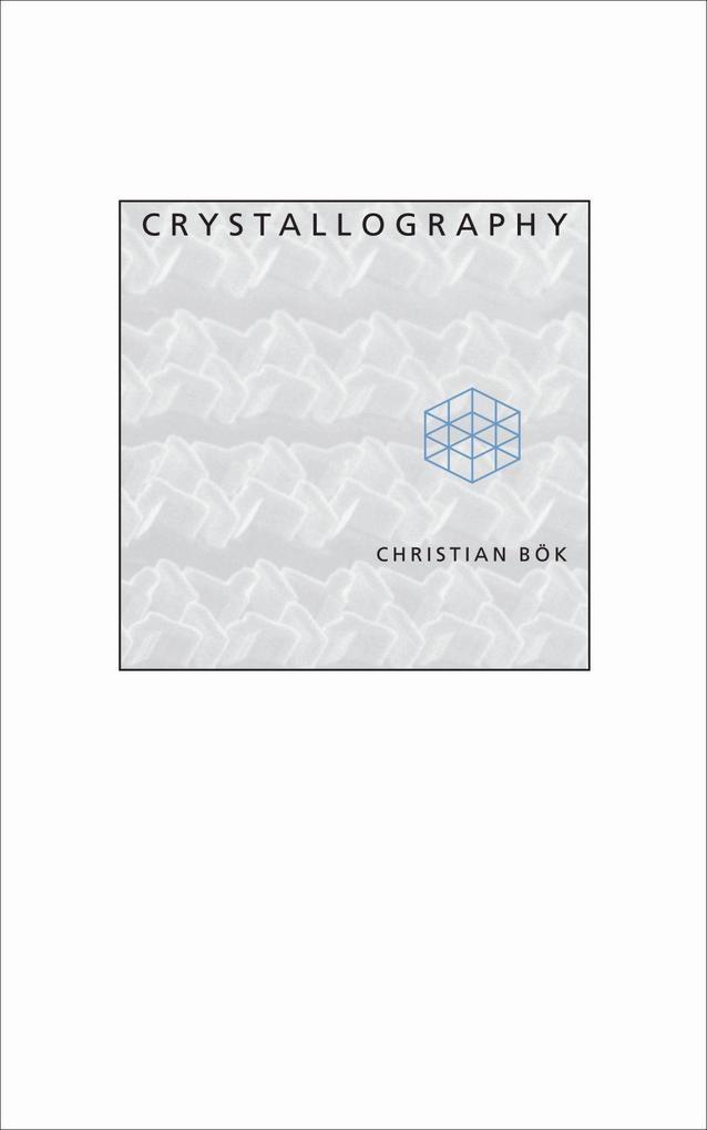 Crystallography als Taschenbuch