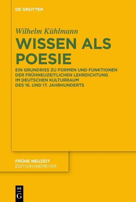 Wissen als Poesie als eBook Download von Wilhel...