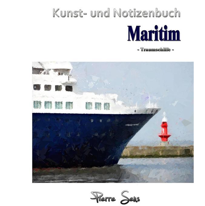 Kunst- und Notizenbuch Maritim als Buch