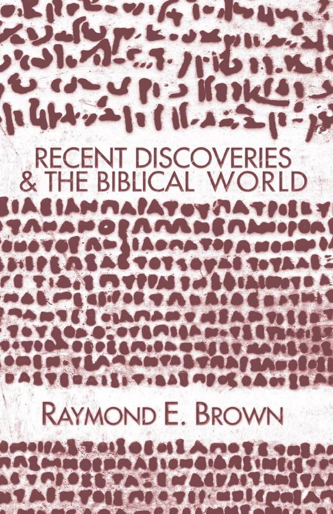 Recent Discoveries and the Biblical World als Taschenbuch