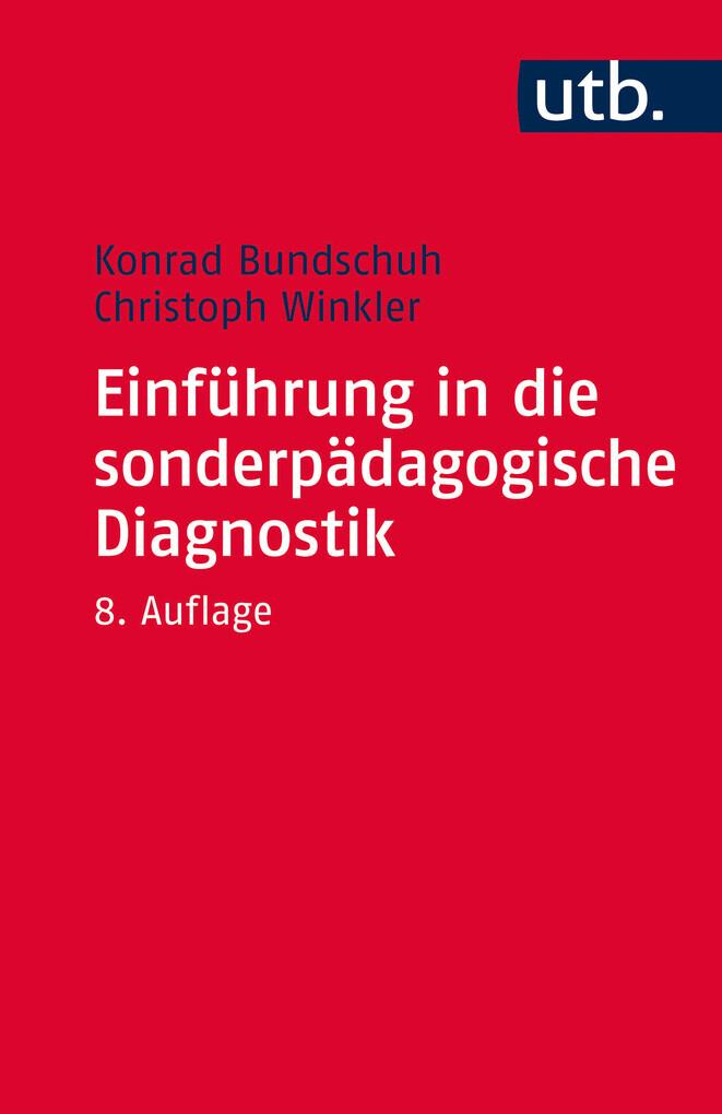 Einführung in die sonderpädagogische Diagnostik...