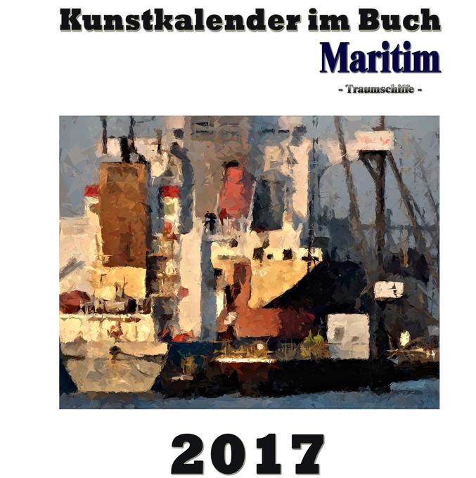 Kunstkalender im Buch Maritim 2017 als Buch