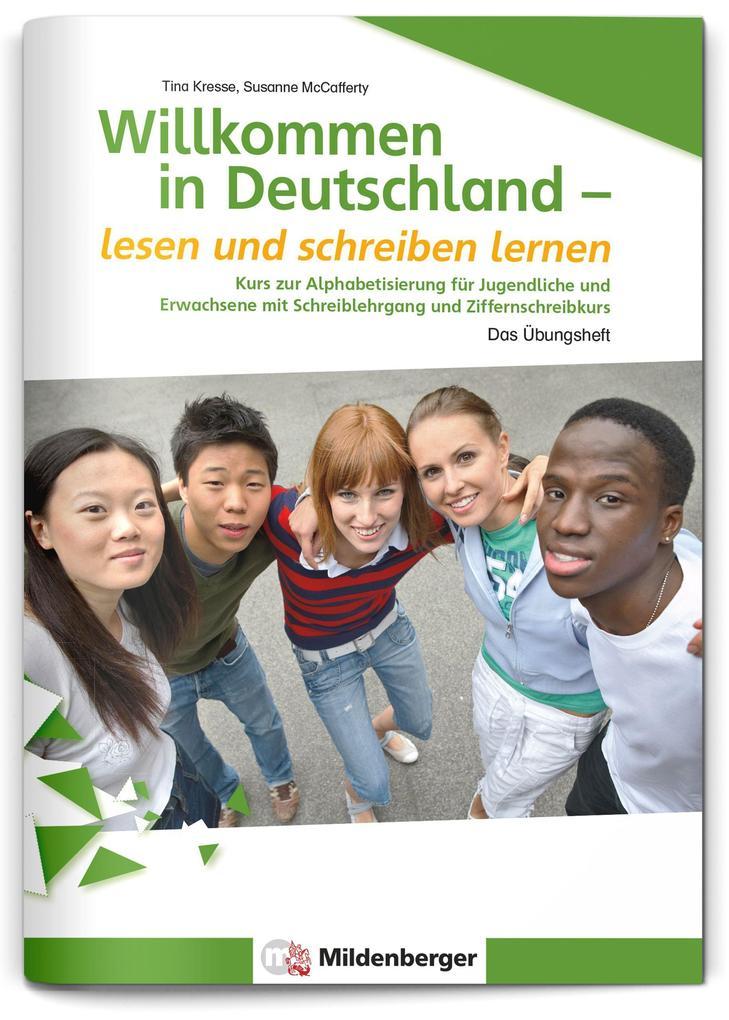 Willkommen in Deutschland - lesen und schreiben...