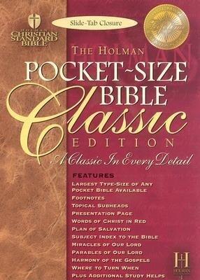 Pocket Size Bible-HCSB-Classic als Buch