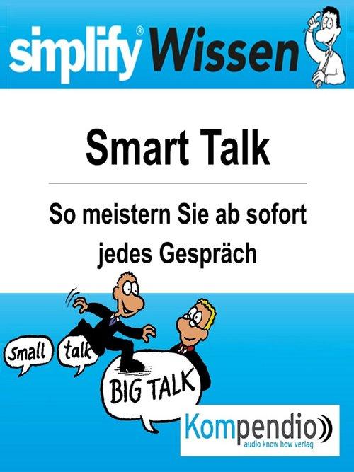 simplify Wissen - Smart-Talk als eBook