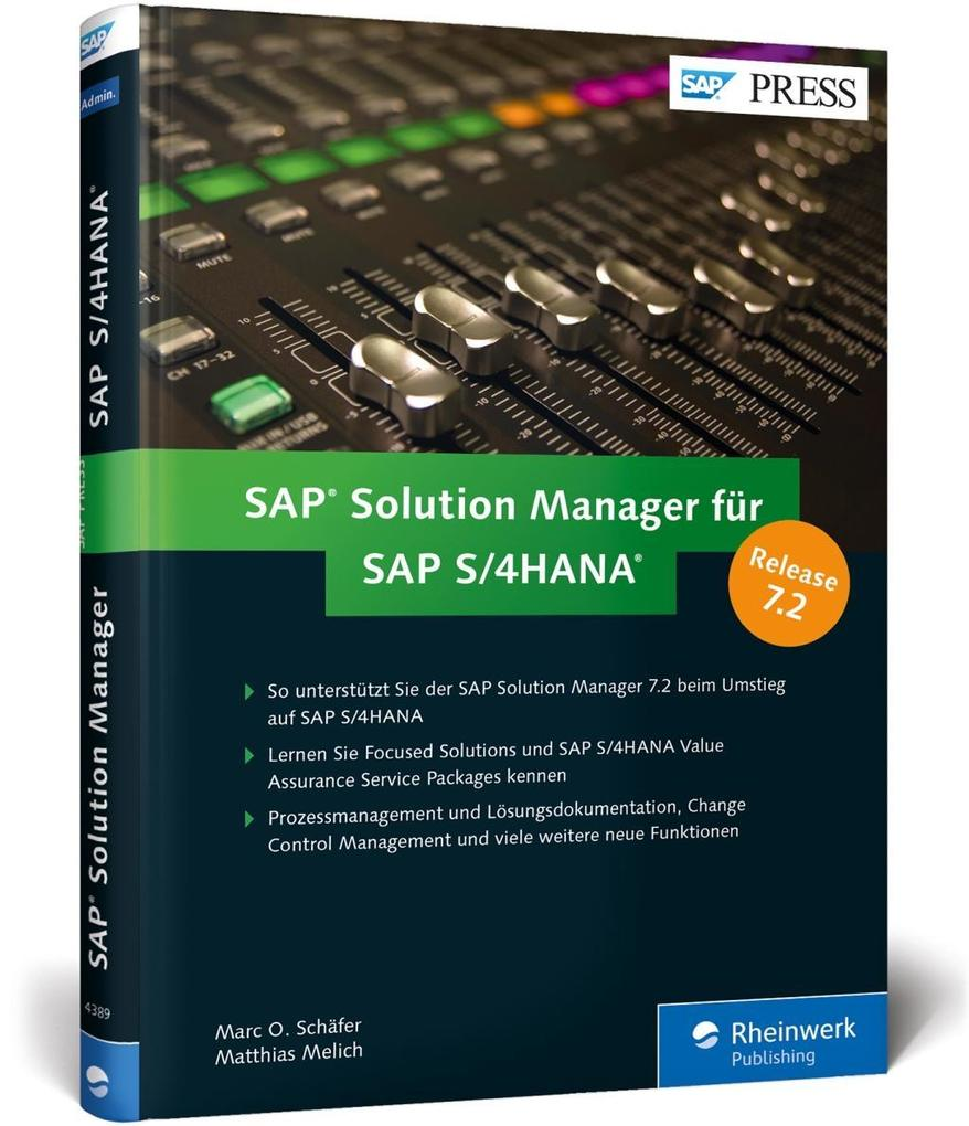 SAP Solution Manager für SAP S/4HANA als Buch v...