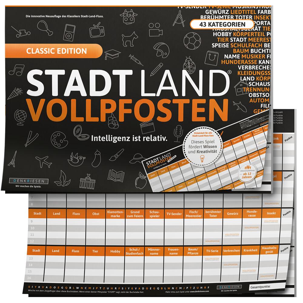 STADT LAND VOLLPFOSTEN® - CLASSIC EDITION - Int...