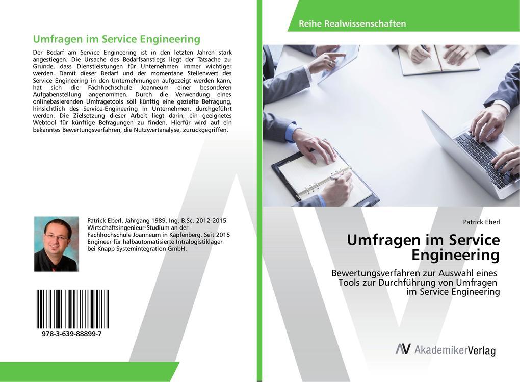 Umfragen im Service Engineering als Buch von Pa...