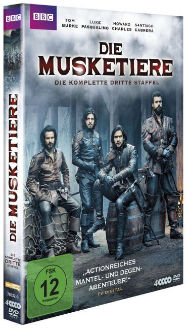 Die Musketiere - Die komplette 3. Staffel