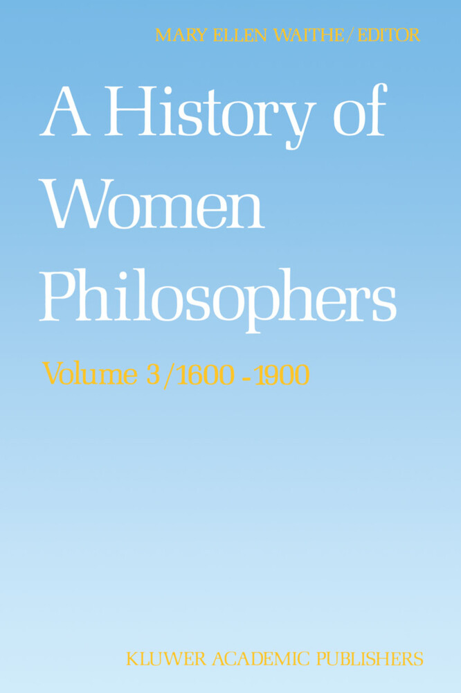 A History of Women Philosophers als Buch