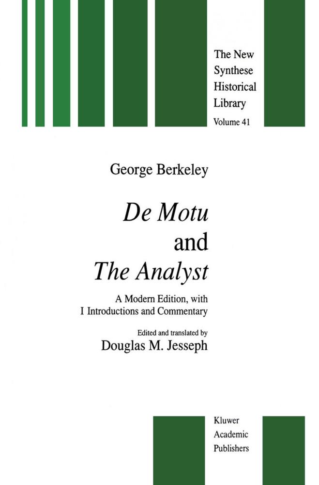 De Motu and the Analyst als Buch