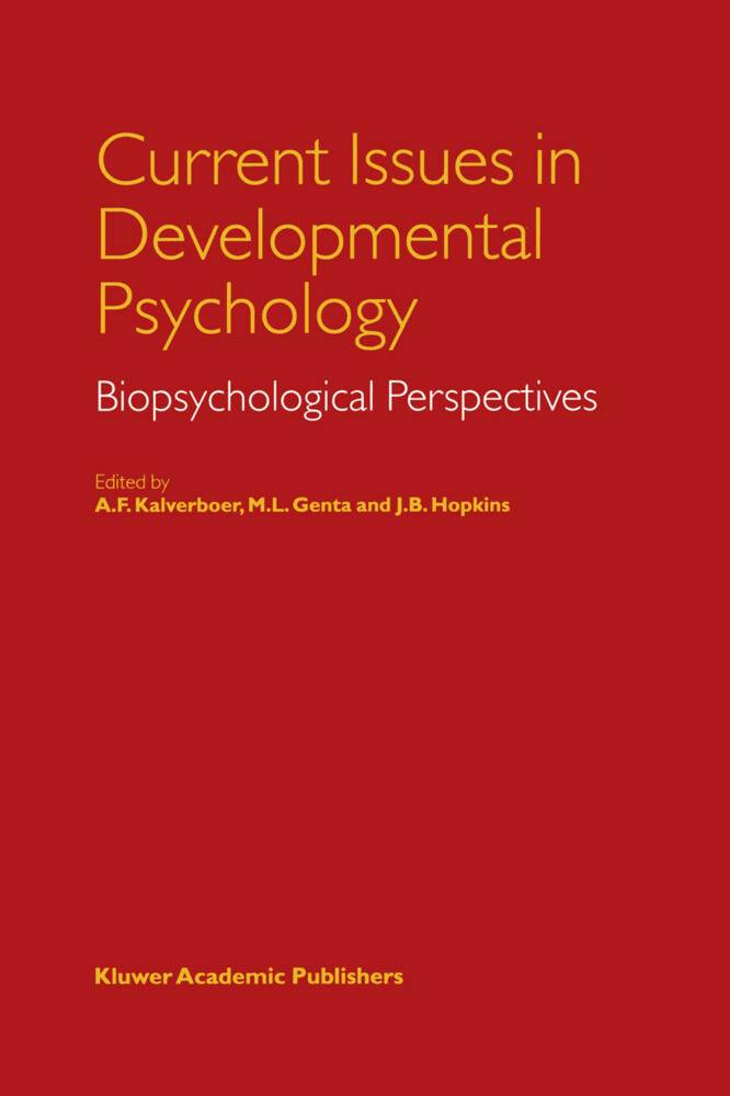 Current Issues in Developmental Psychology als Buch