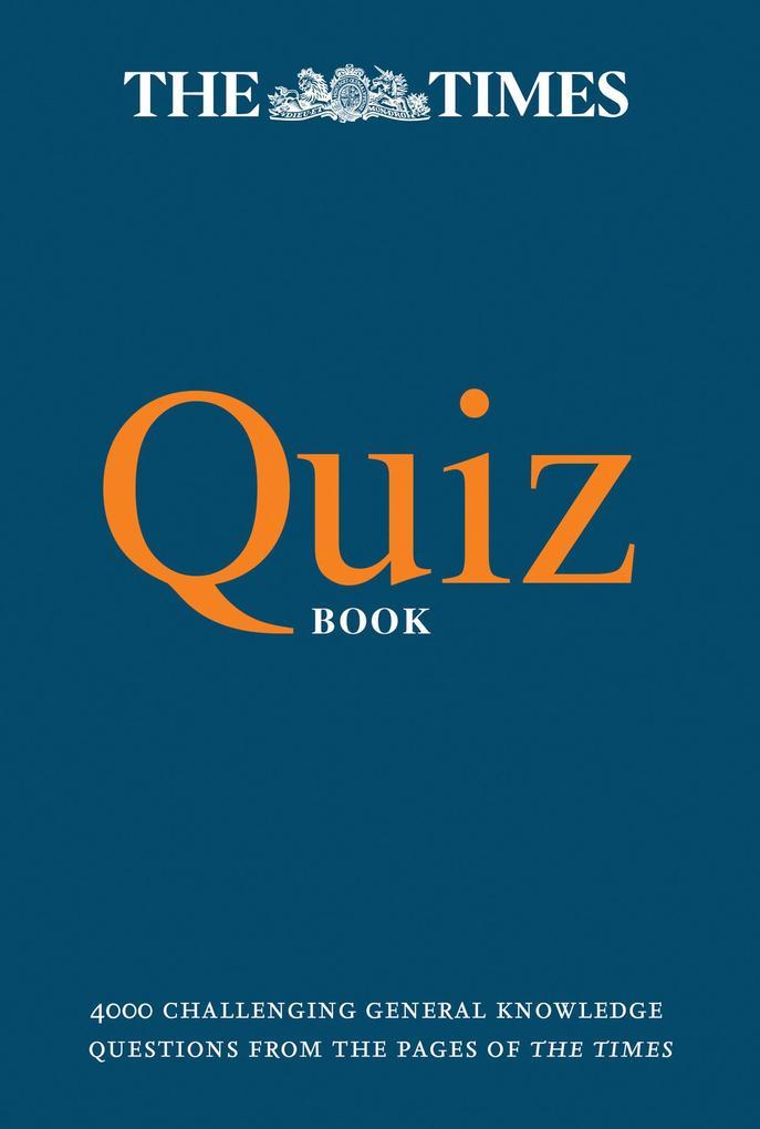 The Times Quiz Book als eBook Download von The ...