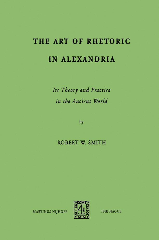 The Art of Rhetoric in Alexandria als Buch