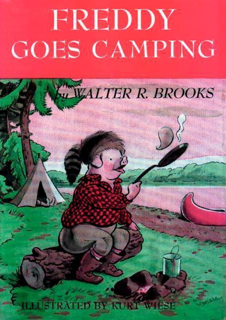Freddy Goes Camping als Buch