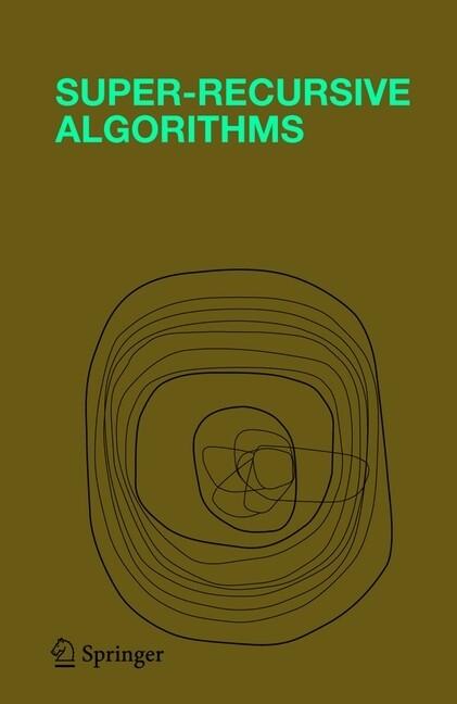 Super-Recursive Algorithms als Buch
