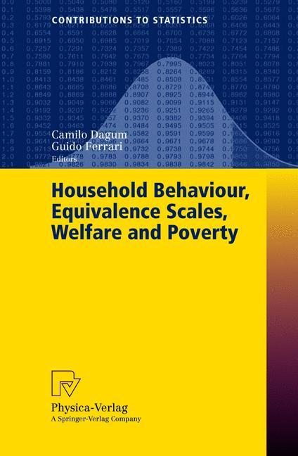 Household Behaviour, Equivalence Scales, Welfare and Poverty als Buch