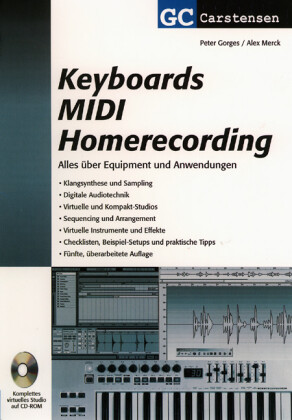 Keyboards MIDI Homerecording als Buch