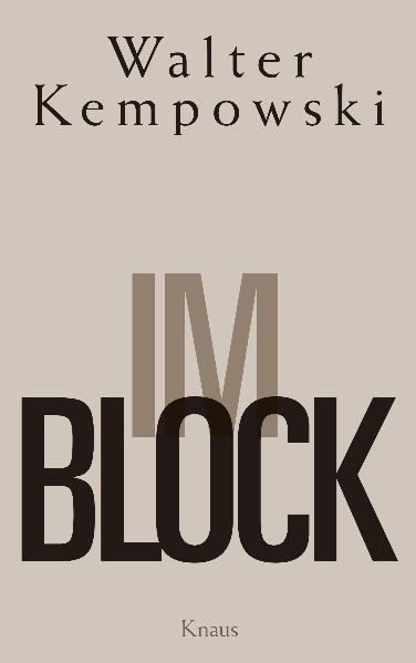 Im Block als Buch