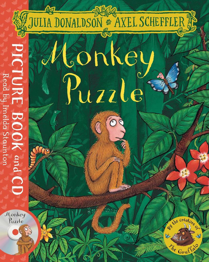 Monkey Puzzle. Book and CD Pack als Buch von Ju...