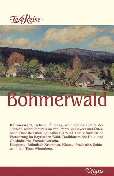 LeseReise Böhmerwald als Buch (gebunden)