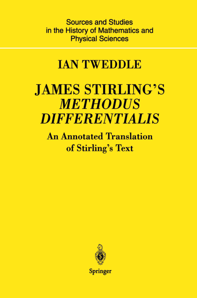 James Stirling's Methodus Differentialis als Buch