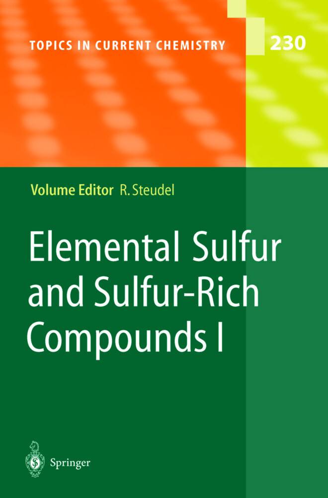 Elemental Sulfur and Sulfur-Rich Compounds I als Buch