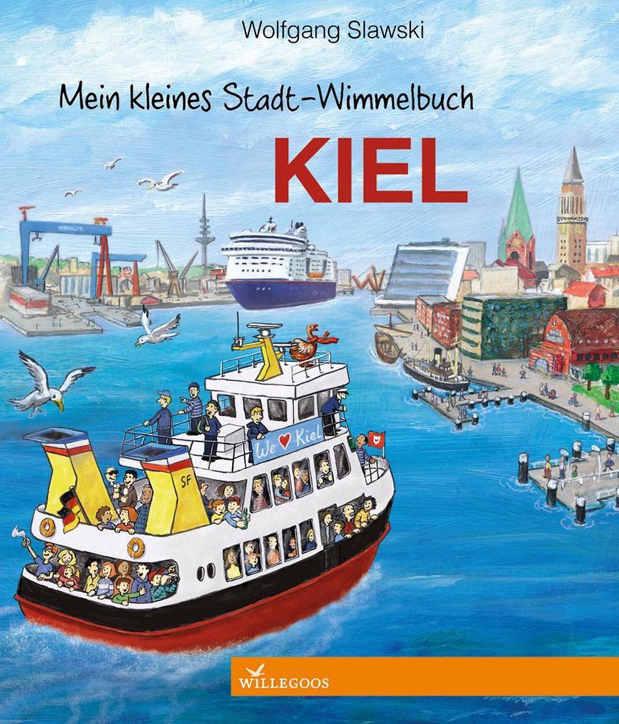 Mein kleines Stadt-Wimmelbuch Kiel als Buch